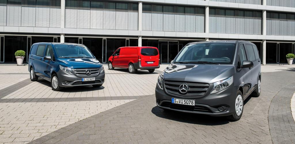 11 Mercedes-Benz Vans Product