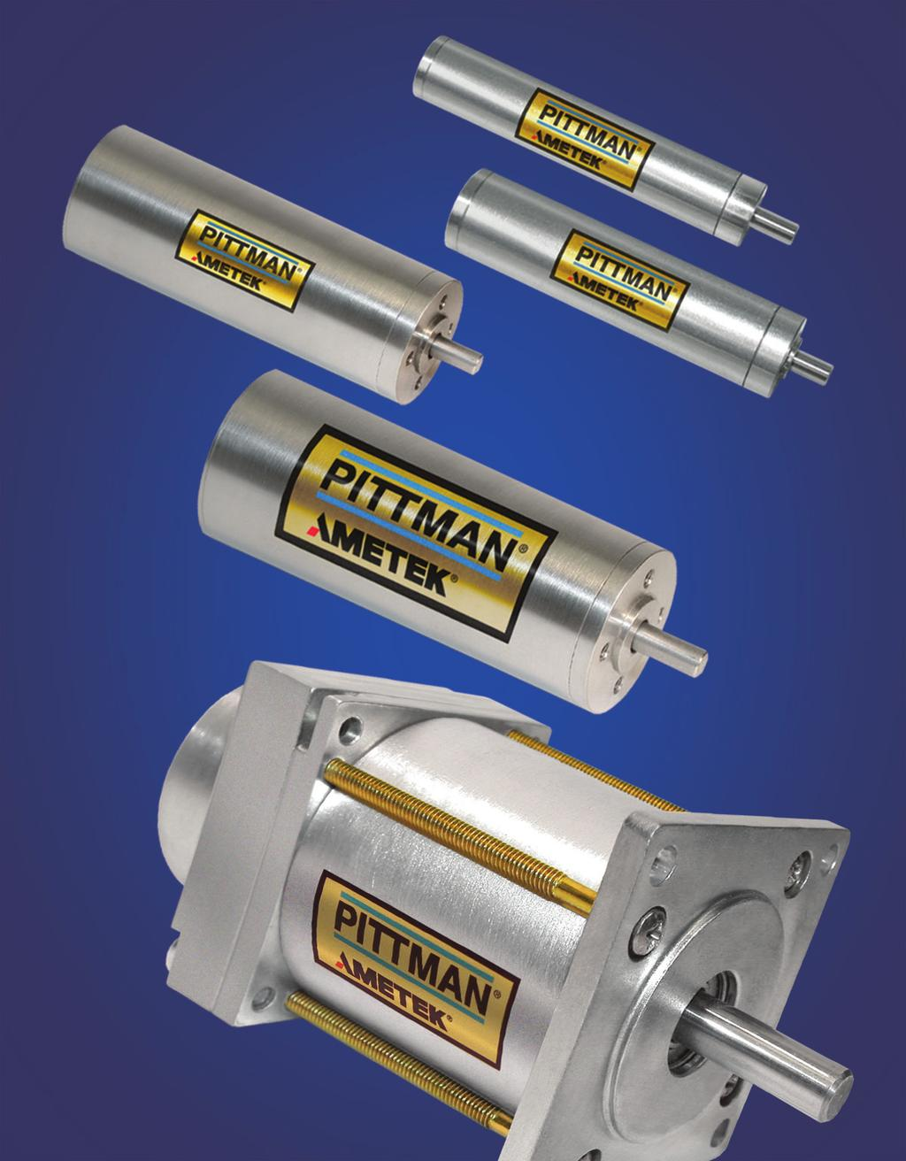 Differentiators and Options PITTMAN slotless brushless DC motors feature an offering of standard platform designs that can be customized to meet specific performance and application requirements.