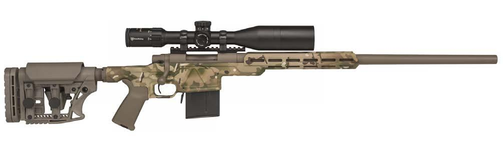 308 Win Accepts AR-style furniture for customization 20 and 24 barrels, standard & heavy barrel options 26 available in 6.5 Creedmoor and.