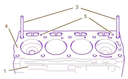 SENR9779-03 97 Place the cylinder head on a surface that will not scratch the face of the cylinder head. 5.