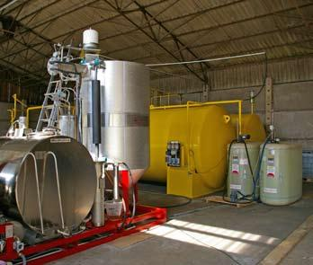 Biodiesel solutions for the future 7 Turnkey solutions In addition to high quality automated turnkey biodiesel processors, Naturfuels provides you with all you need to produce high quality biodiesel