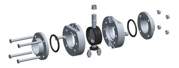 T-smart Mixproof Butterfly Valves Design and features T-smart mixproof butterfly valves are