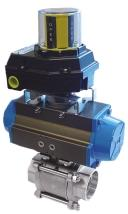 Pre-Lubricated End Caps Powder Coated Die Cast Aluminum Open /Close Adjustment Stops Optional Features: Epoxy Coated, E.N.P. Bodies Rotary Actuation All PMP Actuators provide quiet and reliable operation for all rotary valves.