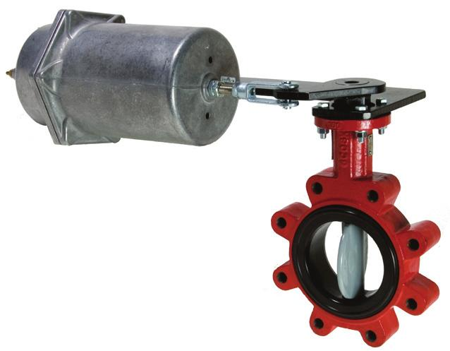 All assemblies include industry leading butterfly valve features, stainless steel double D