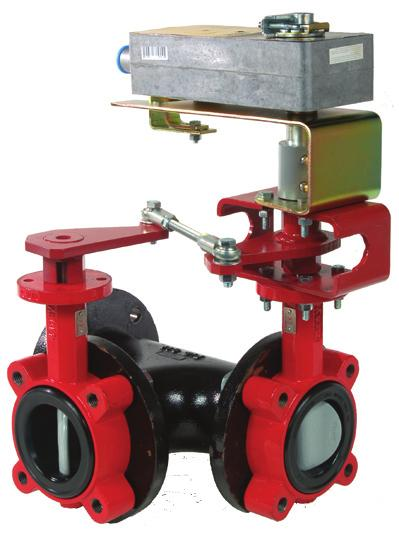 Features 2 to 18 two-way assemblies and 2 to 16 three-way assemblies Chilled/hot