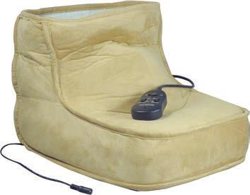 Electric Dual Speed Soft Massaging Foot Boot with Heat Soothes cold, tired feet