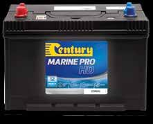 Cruiser Low maintenance, heavy duty starting batteries designed for use in larger marine vessels.