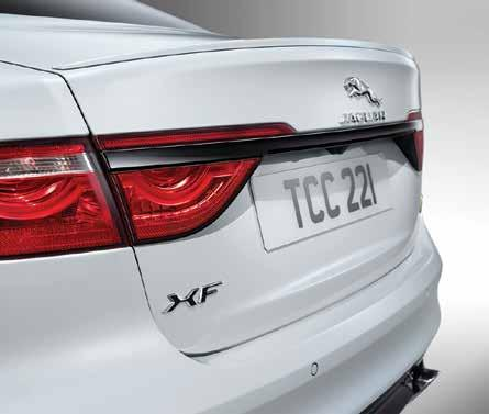 look with this body coloured spoiler exterior styling upgrade.