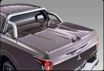 Available in all body colors. For part numbers, see quick reference list. Tonneau cover, hard 2 pc.
