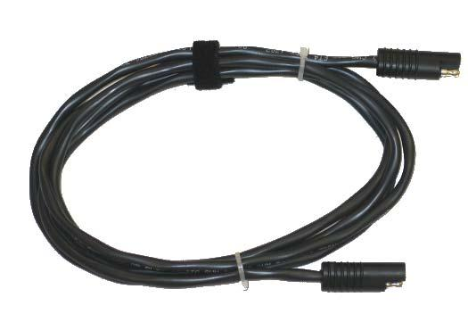 Accessories 8 Extension (390651) The 8 Extension cable allows greater distances between the Power Input and the battery.