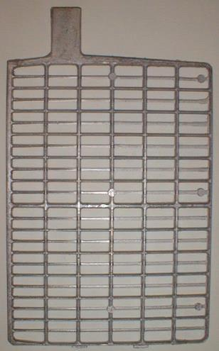 Flat pasted plate construction Grid Collects