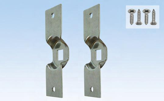 6-C0800-03-0-0 Made of stainless steel Bag of two dummy plates and four #6 x 5/8""