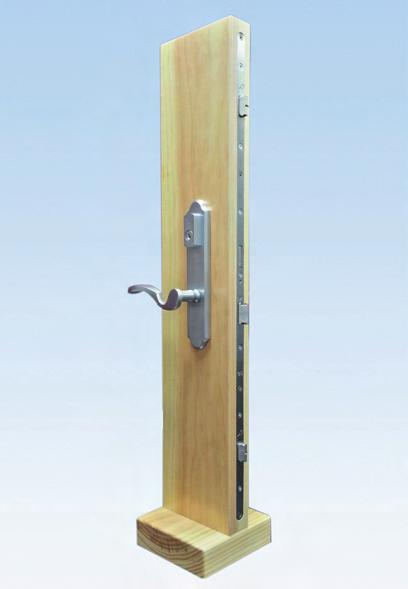 Display without Door Lock or Handle Wood mount display 45mm (1 3/4'') thick 1