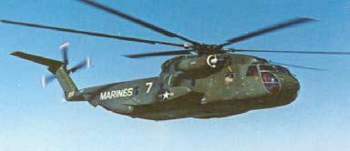 Sikorsky was awarded a contract for the CH-53A in August of 1962.