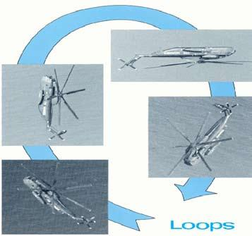 The agility and maneuverability of the CH-53A helicopter was