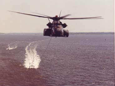The success of the RH-53D helicopter in