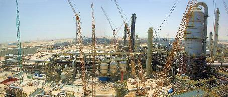 petrochemical complex, Saudi Arabia One of the largest control systems in the world,