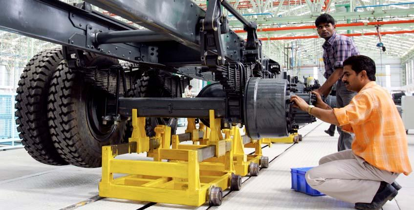 Center in India Bus assembly in Mexico Turbo