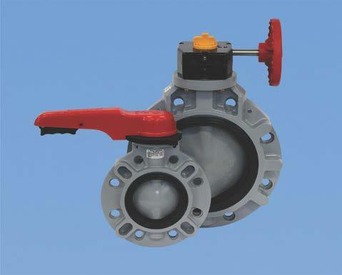 Butterfly Valve Type 57P Contents Lever Type: 50-200 mm (2-8 ) Body Material: CPVC Gear Type: 50-200mm (2-8 ) Body Material: CPVC (1) Be sure to read the following warranty clauses of our product 1