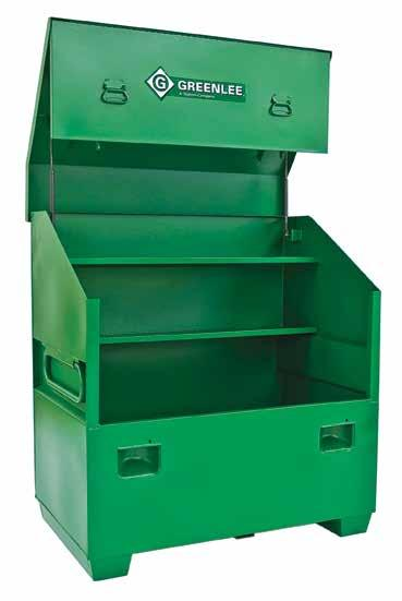 = new product = Replacement Part = Accessory B = Bare tool Slant-Top Boxes 3648 Large capacity storage with traditional slant-top design.