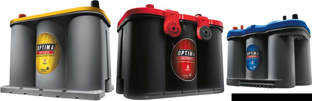 Optima batteries are ultra high performance AGM products with advanced Spiralcell Technology that can outperform all other lead-acid