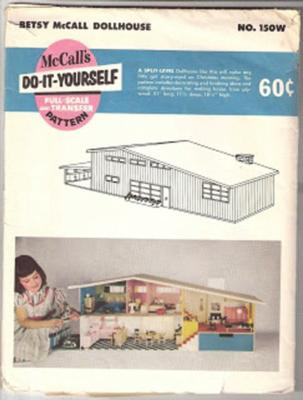 A: No, it s a 1955 Betsy McCall dollhouse! Lundby Look-Alike Dollhouse Identified MANY SCANDINAVIAN manufacturers copied Lundby s design for their own dollhouses.