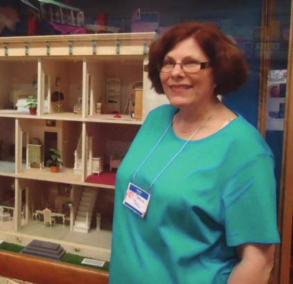 Page 6 Members in Focus THIRTY-SECOND IN A SERIES OF ARTICLES H AVING COLLECTED LUNDBY for nearly four decades, Carole Thall, OH, has gained not only a large number of miniatures, but also valuable