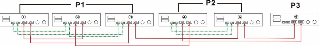one phase, two inverters in second phase and