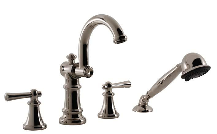 "VOGUE COLLECTION ROMAN TUB FILLER SET & HAND HELD SHOWER WITH VO HANDLES MODEL: 6555VO10-TM 6555VO -TM PARTS BREAKDOWN 7 3 16"" # DESCRIPTION PART # # DESCRIPTION PART # 3 3 16"" 3"" 10 7 16"" 8 1 8"" 7 """