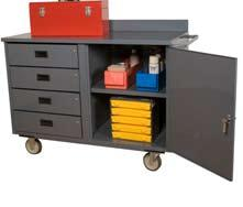 CARTS MOBILE BENCH CABINETS 36 W Mobile Bench Cabinets (2000 lbs.