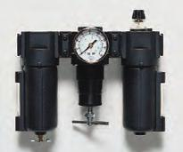 Modular design air system components air regulators and gauges Model 970 1/4 Model 973 3/8 Model