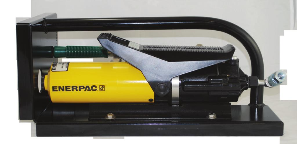 ITEM. INJECTION FLUID The Air / Hydraulic Injection Gun comes filled with Enerpac hydraulic oil. Oil should be added or replaced as necessary using only Enerpac hydraulic oil.