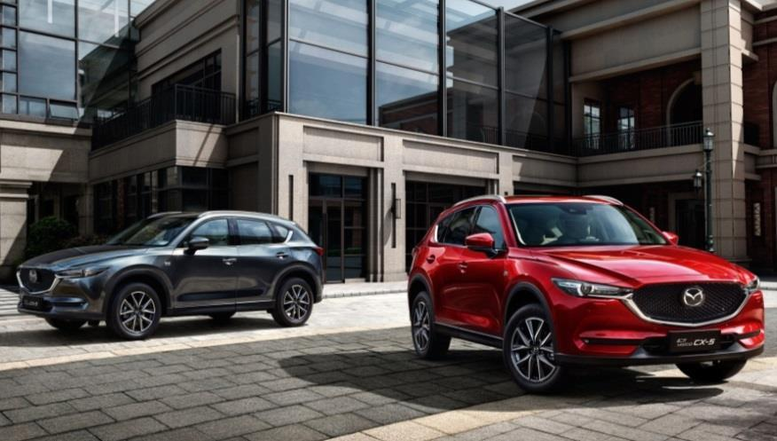 CHINA Sales were 245,000 units, up 8% year on year Record sales of the first nine months (000) New CX-5 Nine Month Sales Volume Strong sales of Mazda3 and CX-4 contributed to volume