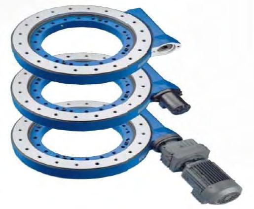 Drive Slew Rings For a full catalogue please contact us at info@motiontechnologies.com.au Size 7 o o o Size 9 o o o 73:1 reduction ratio Nom.
