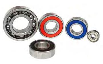 Deep Groove Ball Bearings Deep groove ball bearings are versatile, self-retaining bearings with solid outer rings, inner rings and ball and cage assemblies.