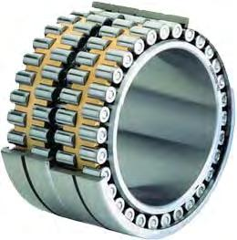 Cylindrical Roller Bearings Cylindrical roller bearings with cage are units comprising solid inner and outer rings and