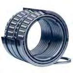 Taper Roller Bearings Tapered roller bearings comprise solid inner and outer rings with tapered raceways and