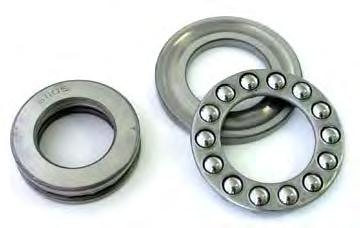 Thrust Ball Bearings Thrust ball bearings are classified into those with flat seats or aligning seats depending on the shape pf the outer ring seat (housing