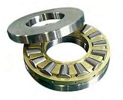 Thrust Taper Roller Bearings Tapered roller thrust bearings are engineered for true rolling motion, increased bearing life and additional load bearing capacity in a variety of industrial applications.