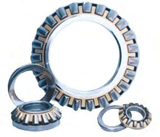 4 To 1290 1550 134 6970 55950 917/1290 75 100 495 Thrust Spherical Roller Bearings These are thrust bearings containing convex rollers.