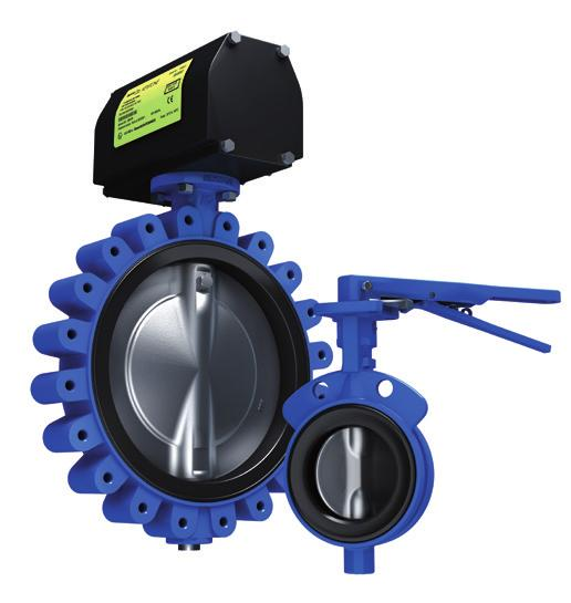 KEYSTONE The Keystone Series GR is a heavy duty industrial resilient seated butterfly valve aimed at general purpose applications.