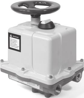 VALVCON ADC-SERIES ELECTRIC ACTUATOR WITH OPTIONAL BATTERY BACK-UP POWER Metso is a leading designer and provider of Valvcon compact, reliable, electronically controlled electric actuators for valves
