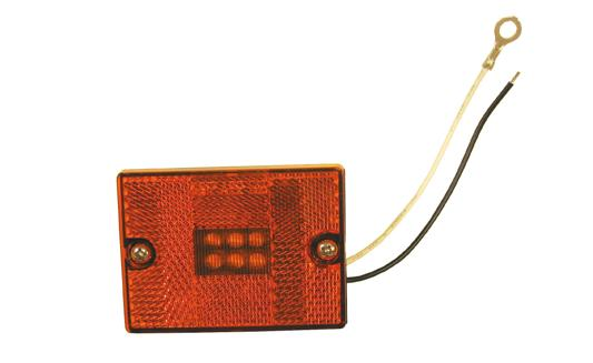 00 LED Red Clearance Part#