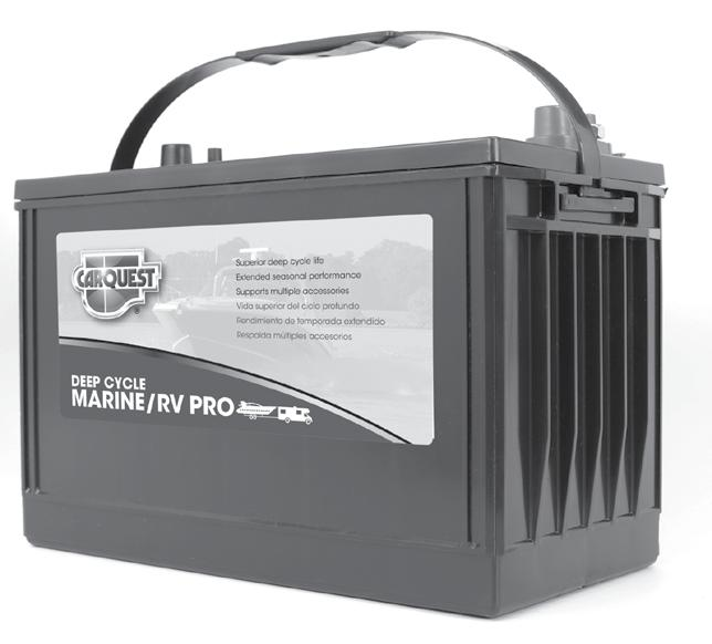 Whether you are a bass fisherman or a family on a cross-country RV trip, Autocraft Pro Deep Cycle Marine batteries will fit your needs.