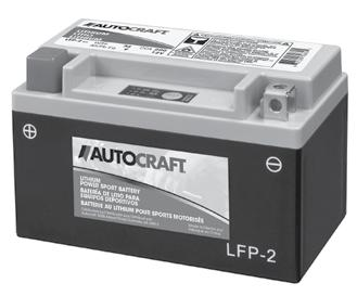 AutoCraft Lithium Power