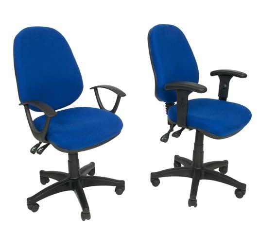 5mm gauge frame stacking chair Elegant curves Operators Chairs TY-010-3/10 TY010-2 Stock Colours: Royal Blue & Jet