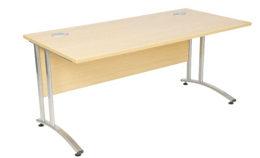 Radial Desk (Right hand) 1600mm Radial Desk (Right hand) 1800 x 1200 x 800/600D 1600 x 1200 x 800/600D