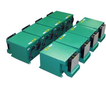 B. Lithium Ion Battery System The second battery system is based on the SAFT VL 41 M cylindrical cell Li Ion battery (Table I).