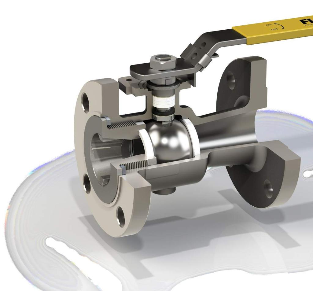 These rugged, economical, end entry flanged ball valves are ideal for industrial applications.