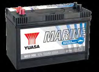 Specifications & X-Refs MARINE BOATS & WATERCRAFT Features Marine & leisure craft use Dual terminal Sealed lid